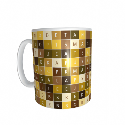 Tea Wordsearch Mug